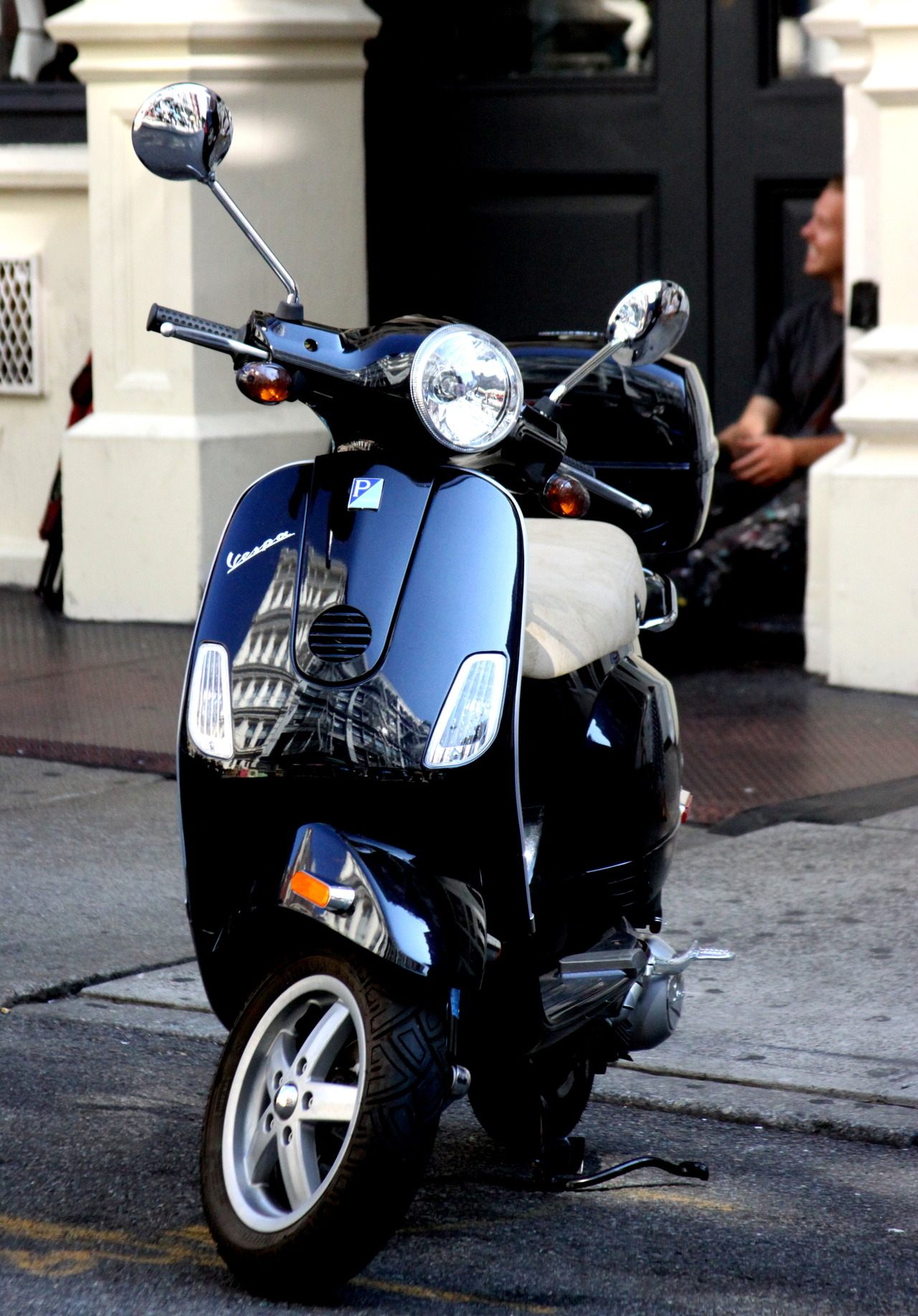 Vespa by by Julia Rozental for Motor Inn