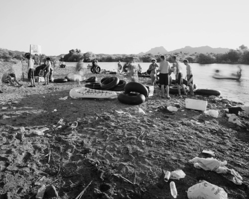 Tubers and Trash, Salt River, Arizona, from Storage & Transport Bryon Darby
