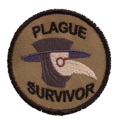 Plague Survivor Merit Badge (via slavin via aids-trees)