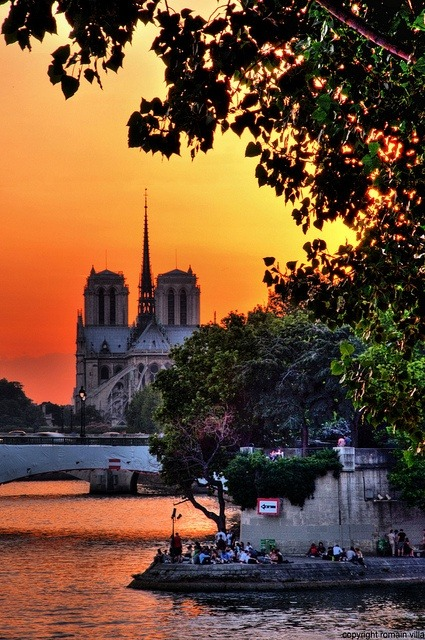 coffeepearlsandpoetry:  Paris/Notre Dame (by romvi on flicker)