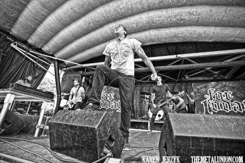 themetalunion:  For Today Vans Warped Tour, Mansfield, MA Photo: Karen Jerzyk