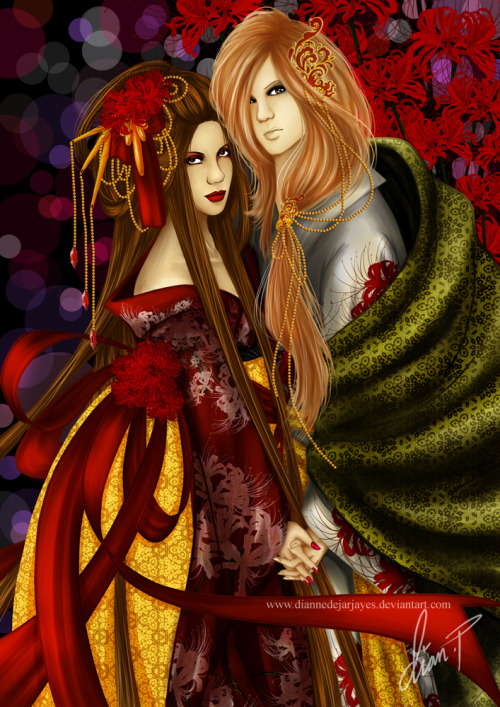 a birhday present for my lovely friend Syzygy_Lestat.  We will meet again