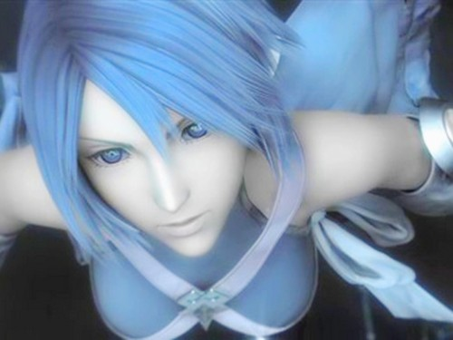 I really need to play BBS so when I say Aqua is my favourite character, I've actually played her.