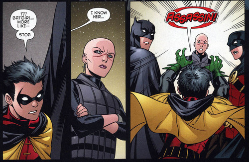 Nothing gets past Damian Wayne!!!