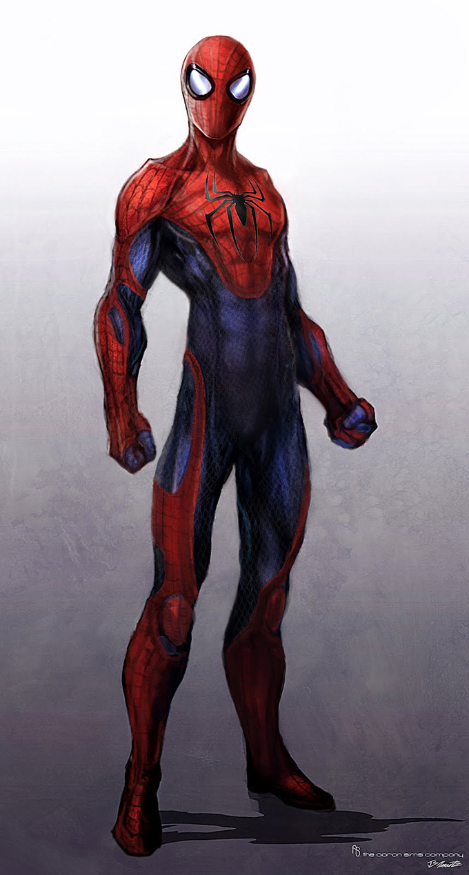 popularhistorian:  The Amazing Spider-Man Concept Art by Jerad S. Marantz