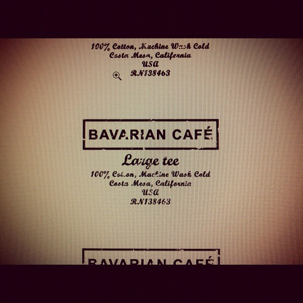 Bavarian Cafe… I've been putting this off for months. I think I'll have some products on the website by September. All for fun though… #bmwcaferacer #bavariancafe #airheads #bmw #caferacer #vintage #parts #clothing #tshirts #design #r75/5 #r100 (Taken with Instagram)
