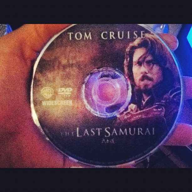 Best movie. #tomcruise#movie#DVD#hand#night#relaxing  (Taken with Instagram)