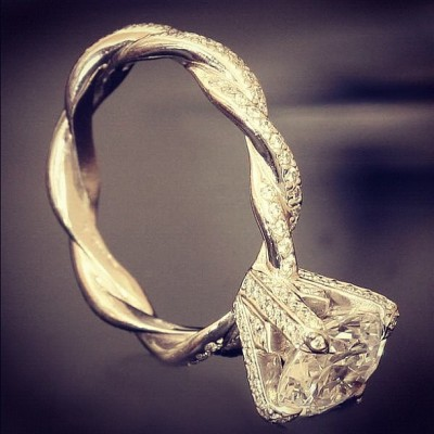 LOVE LOVE LOVE THIS RING!!! (Taken with Instagram)