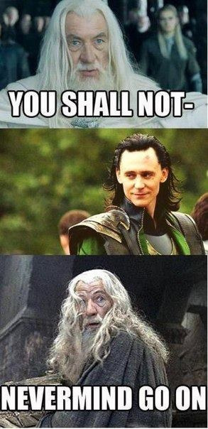 gingergirl24:  Gandalf meets Loki.