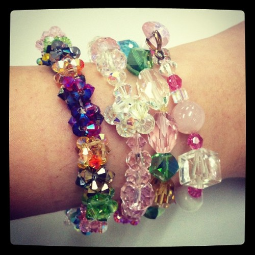 Arm candy. Arm swag. Arm party. (Taken with Instagram)