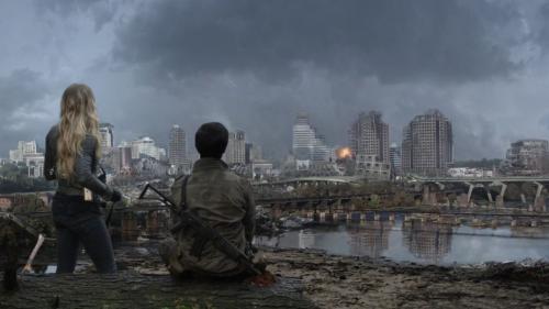 theparidox:  destroyed RVA skyline featured in Falling Skies s02e05