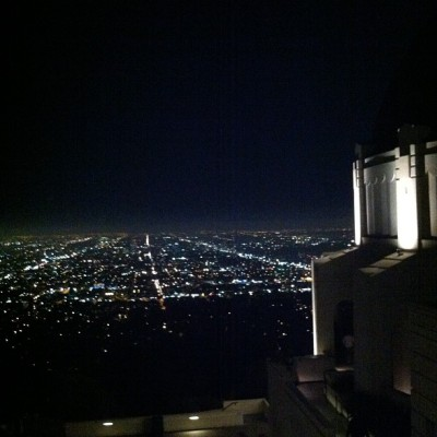 View from the top (Taken with Instagram at Griffith Observatory)