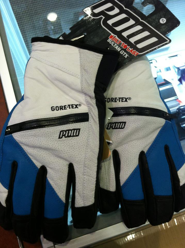New Gloves!! POW Sultan GTX.. mmm leather baby!!