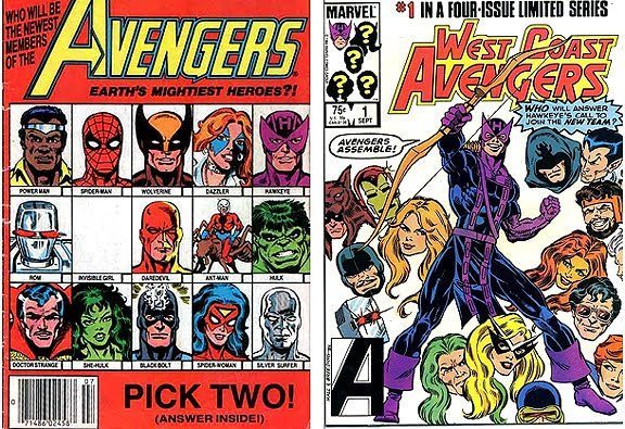 "The Avengers is a team of superheroes, appearing in comic books published by Marvel Comics. The team made its debut in The Avengers #1 (Sept. 1963), and was created by writer-editor Stan Lee and artist/co-plotter Jack Kirby, following the trend of super-hero teams after the success of DC Comics' Justice League of America.[1] Labeled ""Earth's Mightiest Heroes"", the Avengers originally consisted of Iron Man (Tony Stark), Ant-Man (Dr. Henry Pym), Wasp (Janet Van Dyne), Thor, and the Hulk (Bruce Banner). The original Captain America was discovered by the team in issue #4, trapped in ice, and he joined the group when they revived him. The rotating roster has become a hallmark of the team, although one theme remains consistent: the Avengers fight ""the foes no single superhero can withstand"". The team, famous for its battle cry of ""Avengers Assemble!"", has featured humans, mutants, robots, gods, aliens, supernatural beings, and even former villains. The Avengers feature film released in 2012 set the record for the biggest opening debut in North America, with a weekend gross of $207.4 million.[2]"