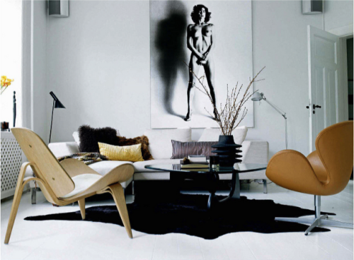 Loving the #noguchi and #fritzhansen in this living room.  #vintage just in at studio:christensen