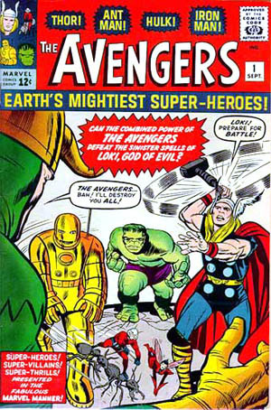 First appearance of loki!