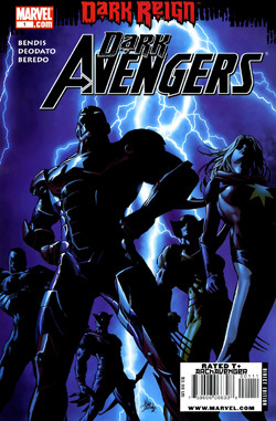 Dark Avengers is an American comic book series published by Marvel Comics. It is part of a series of titles that have featured various iterations of the superhero team the Avengers. Unusually, the series stars a version of the team that, unknown to the public in its fictional universe, contains several members who are supervillains disguised as established superheroes