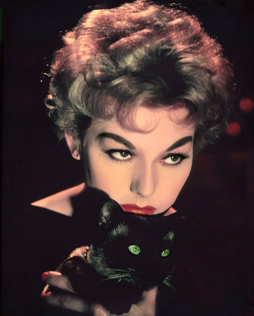 whatsjohnbeensmoking:  Kim Novak; publicity still from Richard Quine's Bell, Book and Candle (1958)