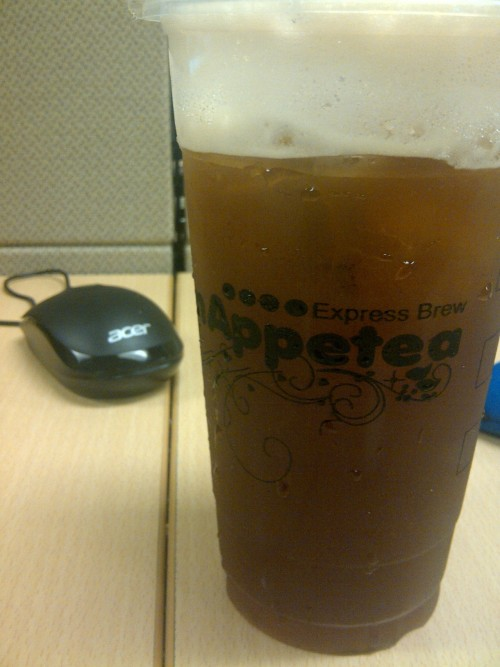 Tried the House Blended Iced Tea from Bon Appetea. Tastes like homemade lemon iced tea. Yung tunay na tea na na-brew na may ice. Parang yung iced tea ng Chocolate Kiss.