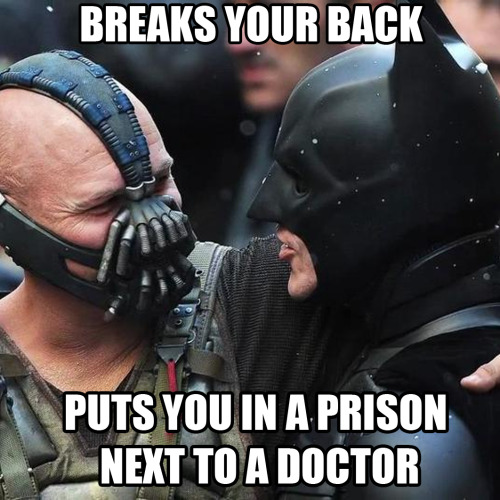 i-am-fading-in-the-dark:  Good Guy Bane