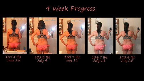 Shrinking more and more! 2 more weeks until this competition is over, but then I'll be setting mini goals for myself. There's no way I'm going back to the old me.
