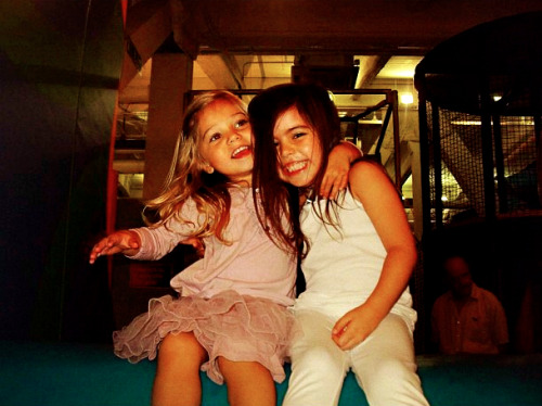 Sophia Grace and Rosie, ages 6 and 3.