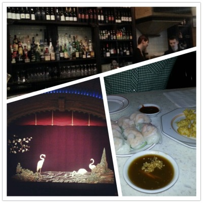 Film Festival love in Auckland. So many films, the beautiful Civic Theatre, wine and cheap Asian meals between movies…