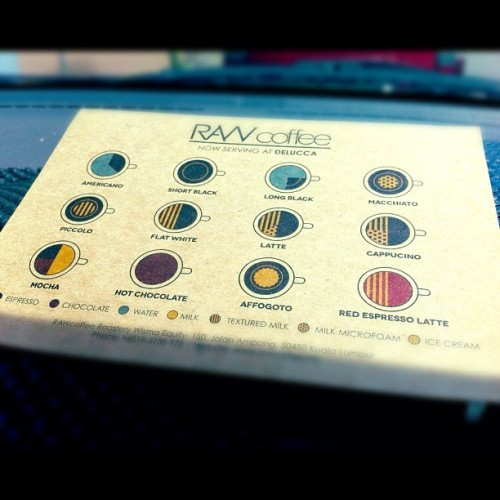 Know your coffee. #RAWcafe #realandwholesome (Taken with Instagram)