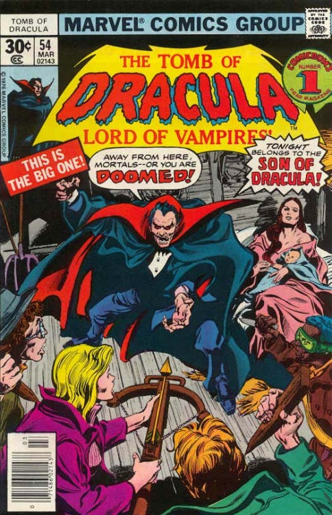As I discuss the inspirations of DRACULA WORLD ORDER it was only a matter of time before I got to this one. Like so many influential works it's not at the front of my mind when crafting ideas. Instead it's something deep in the mental library, where my subconscious can rip out pages and piece them back together with hundreds of other texts and produce some strange tapestry. At the end of the process I get a better handle on the original work itself. Here's what I've been thinking about TOMB OF DRACULA lately.  When the Marvel Essentials line got around to ToD it had already been built up for me by friends. Discovering the series in large black-and-white chunks brought both of its major assets to the fore: Gene Colan's brilliantly moody artwork and Marv Wolfman's ever-propulsive pulpy (which I always use as a compliment) plotting. What stands out the most to me now, and what I see as the influence on DWO, is that you have a long-running adventure where the antagonist and protagonists are given equally weight. Dracula must face the real consequence of immortality, that one is cursed with an ever-growing history where decisions can have epic consequences that last decades. He is plagued by Harker, Van Hesing, Drake, and Blade, the descendants of those he hurt (and in Drake's case, his own descendant). Being undead means living with an extreme burden of history. This symbiotic relationship, with both Dracula and the vampire hunters never rid of each other, led the book to explore all manners of scenarios and environments. A vampire community was built inside the Marvel universe. Other horror elements were also in play, such as a crossover with Jack Russell from WEREWOLF BY NIGHT and Dr. Sun, one of the characters that exemplifies this melding the horrific and superheroic.   I found in ToD the potential of stories about people who are bound to each other forever, and what happens when people both push against and give in to those boundaries in their own ways. I started the series mostly for the Gene Colan art, after all he draws the best women of all the early Marvel artists bar Romita, but I got so much more. I found an important lesson in crafting a wide-ranging narrative. It's still a jolt to read.