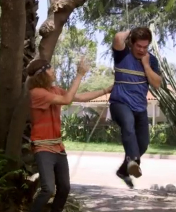 workaholics:  What are you doing tonight? Just hangin'.
