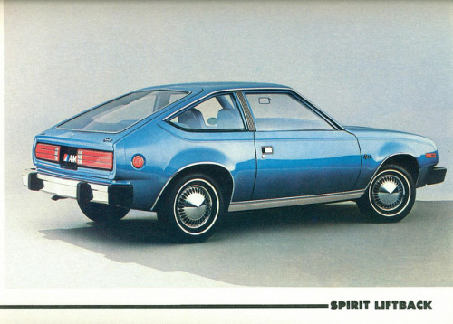 1980 AMC Spirit Liftback  by coconv on Flickr.1980 AMC Spirit Liftback