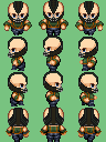 Bane Sprite for RPG Maker I made nearly from scratch.