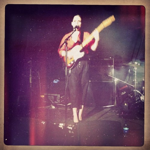 Anna Calvi (Taken with Instagram)
