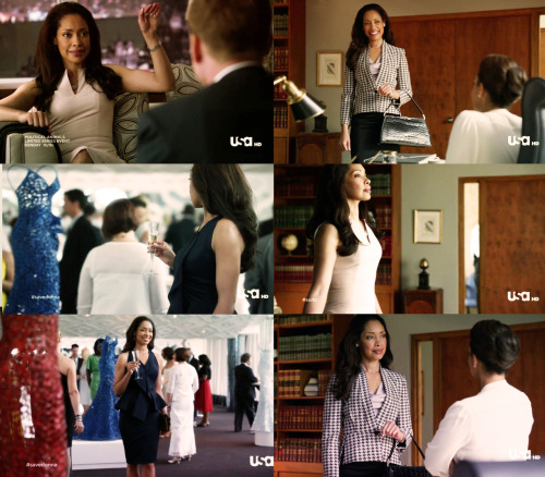 Jessica Pearson and her fabulous wardrobe.
