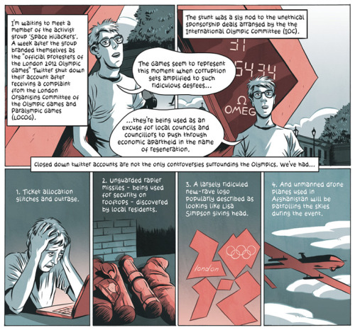 Amazing comics on London2012 by Tom Humberstone.
