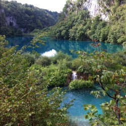 #waterfalls #croatia #plitvice #lakes #landscape #water #nofilter  (Taken with Instagram)