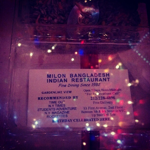 Birthday Celebrated Here (Taken with Instagram at Milon)
