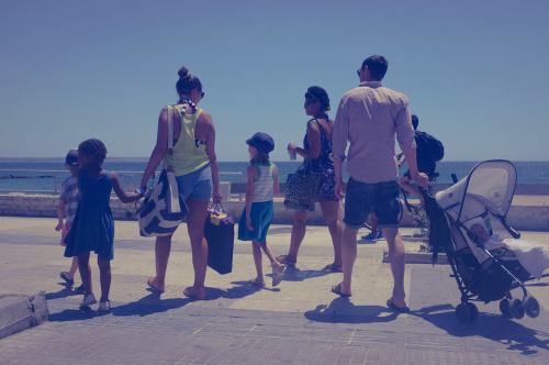 The family, Playa de Palma