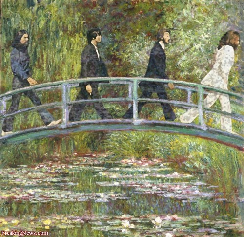 ernestolynch:  Abbey Road… Claude Monet  version