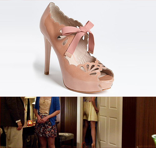 fashionofpll:  You can't really see Hanna's shoes in the photo I've provided but rest assured I found the exact pair.  Joan & David - Cicilee Pump - $219.95