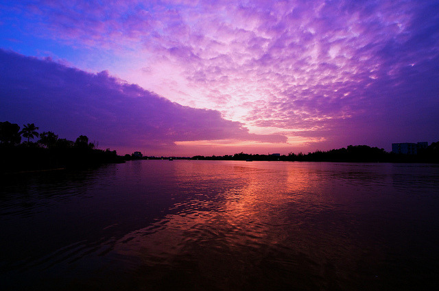 purple sunset by Duyanh Pham on Flickr.