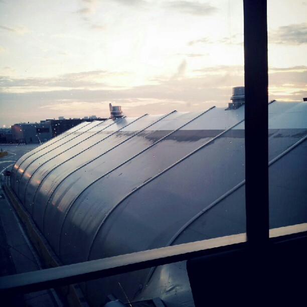 Airport sunrise (Taken with Instagram)
