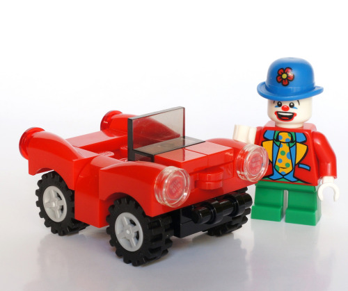 Mini Clown - Mini Car (by Vanjey_Lego)