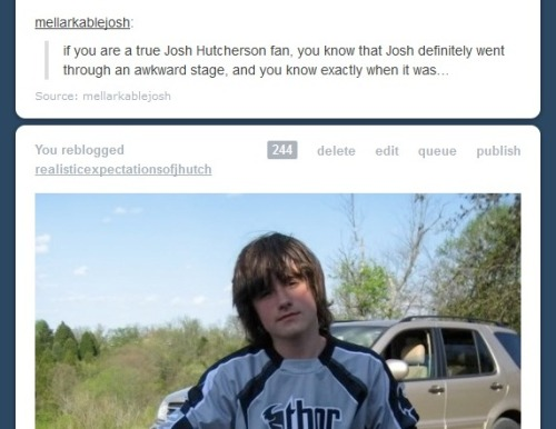 hutcherson-whore:  Huh. I think my dash called it. What a good little dash :)  that was shortly after i fell in admiration with him… and dated a guy only because he looked exactly like this…. wow…. o_o
