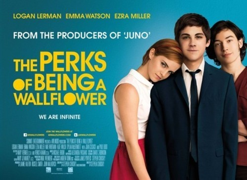Is this the better movie poster for perks of being a wallflower? Reblog if you think so