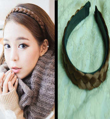 Stylish Brown Bohemian Style hand tied Hair Band Kanekalon material  shop from Merpher.L