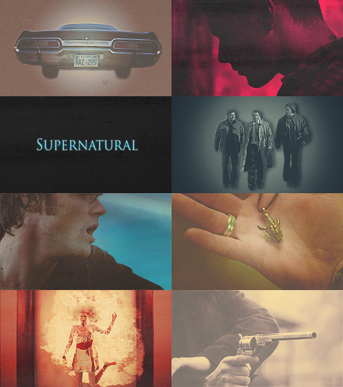 q-tarantino:  fangirl challenge ♦ [1/5] tv shows  Supernatural