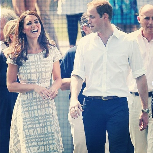 Could Kate Middleton & Prince William be any cuter?!