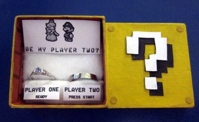 Be My player two? Geek Marriage Proposal by Salainen