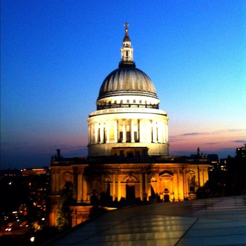 Great night with the best company #stpauls (Taken with Instagram at Madison Roof Bar)